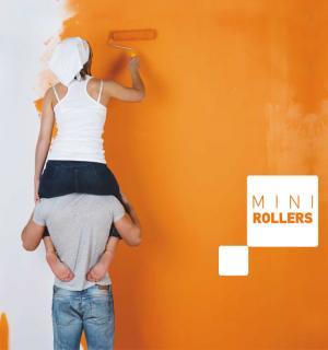 Mini Rollers, ρολά βαφής - Rollex