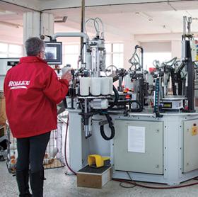 Rollex στάδια παραγωγής - Παραγωγής ρολών βαφής