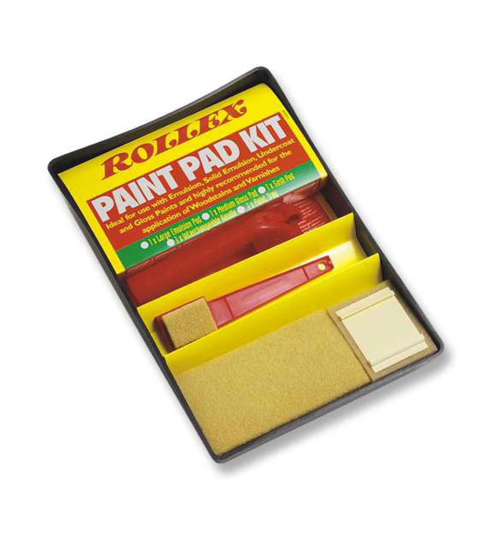 Paint Pad Kit, σετ για όλες τις χρήσεις - Rollex