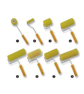Ρολά για Relief - Ειδικοί κύλινδροι για κατασκευή RELIEF - Rollex