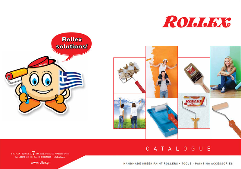 Rollex paint rollers - Product catalogue