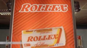 ROLLEX - 61 χρόνια πρώτη στα ρολά βαφής
